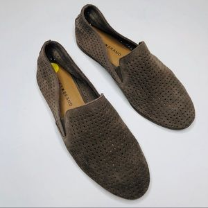 Lucky Brand Carthy Perforated Slip On Loafers 9